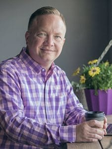 Portrait of owner Jeffrey Smith - Jeffrey's World Events